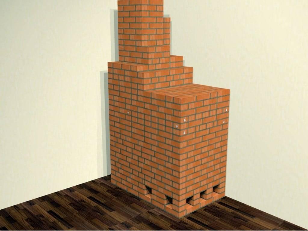 Как строится русская печь экономка, модель подгородникова