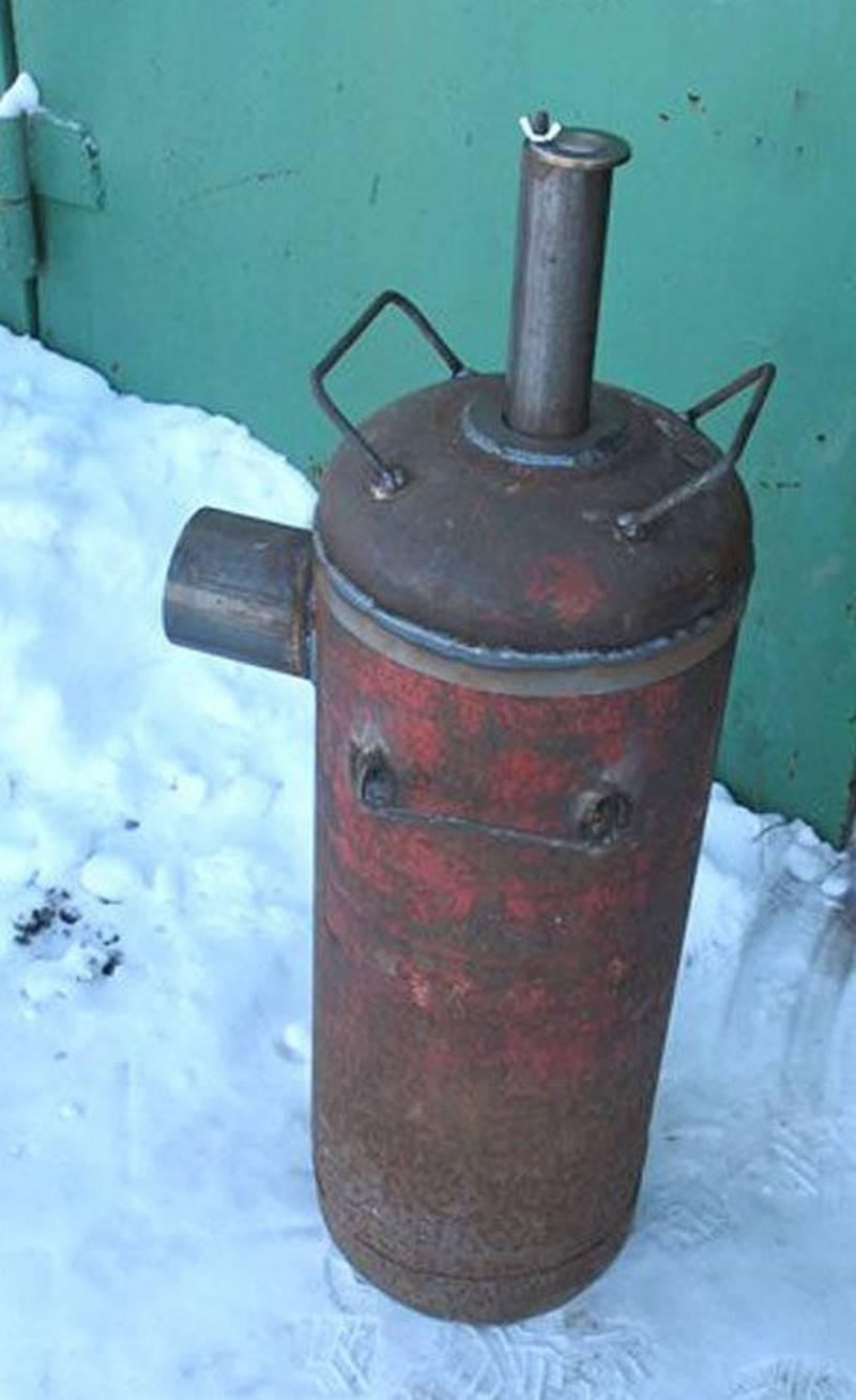Печь для гаража (56 фото): как сделать печку своими руками, самодельная конструкция длительного горения, варианты на отработке и дровах