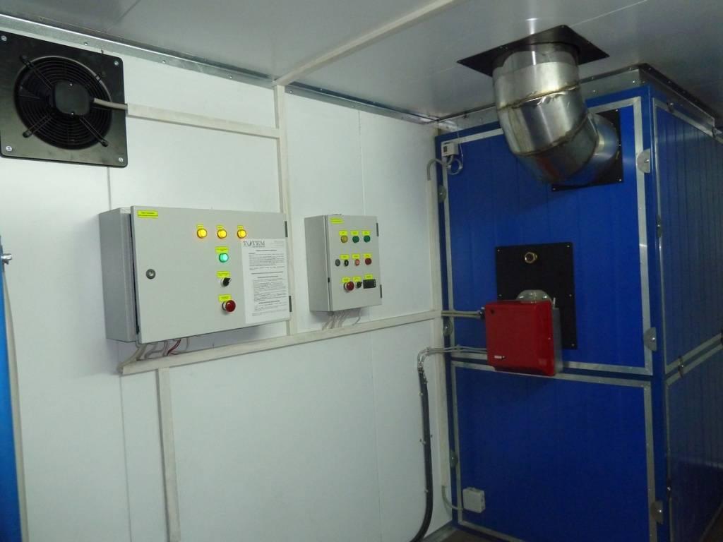 Рассмотрим теплогенераторы для воздушного отопления