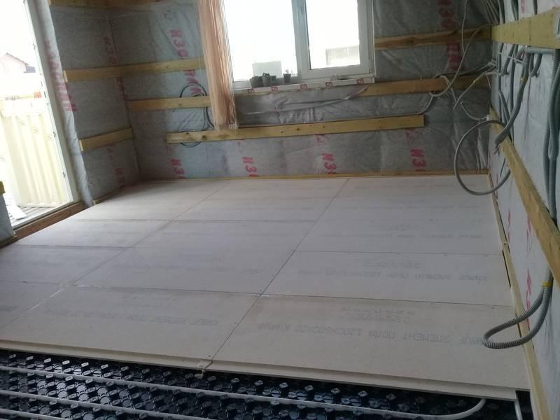Электрический теплый пол в частном загородном доме: особенности монтажа в деревянном и каркасном доме