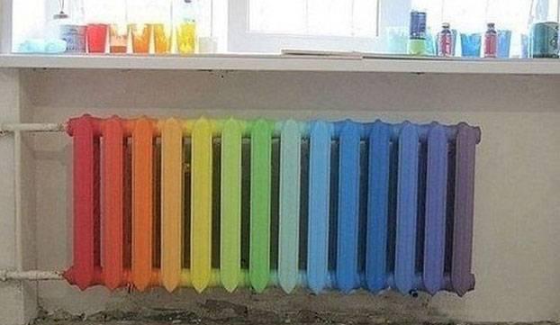 Как покрасить батарею