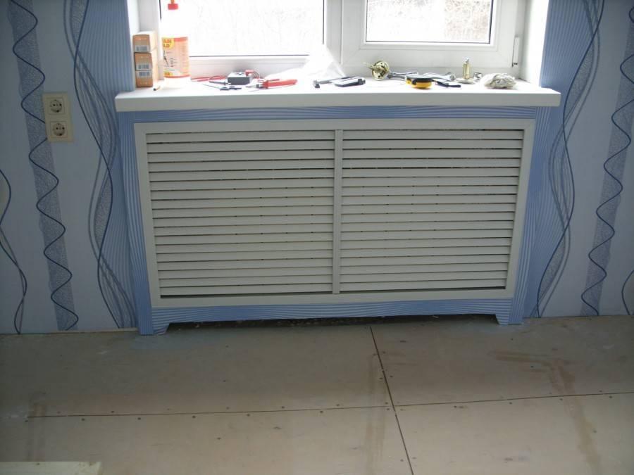 Чем и как лучше закрыть батарею отопления: варианты маскировки радиаторов