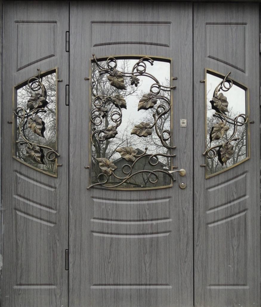 Размер коробки входной металлической двери