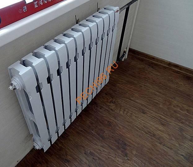 Современные чугунные радиаторы отопления konner: особенности