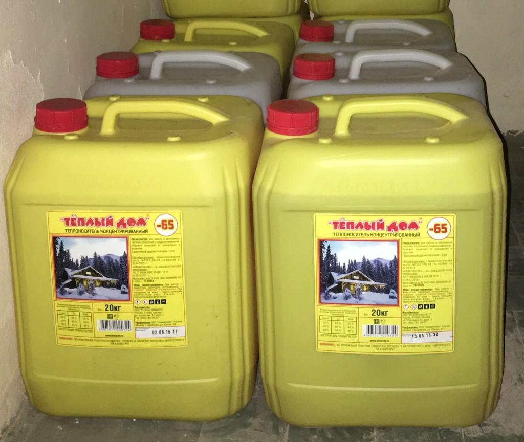 Какую жидкость для отопления частного дома выбрать – использование незамерзайки