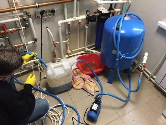Гидропневмопромывка систем отопления в москве недорого 2020 г.