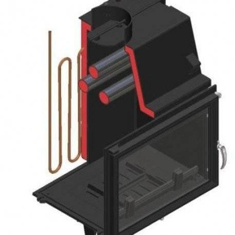 Как организовать камин с водяным контуром отопления: плюсы и минусы