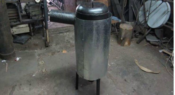 Печь для отопления теплицы своими руками - лучшие самодельные варианты