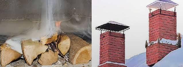 Почему дымит печь: что делать, если нет тяги в печи дома при растопке