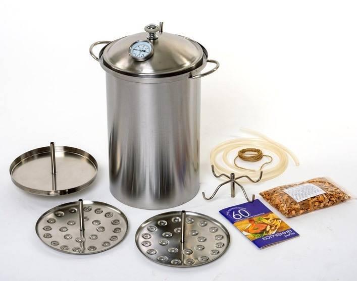 Коптильня домашняя - особенности изготовления агрегата. жми!