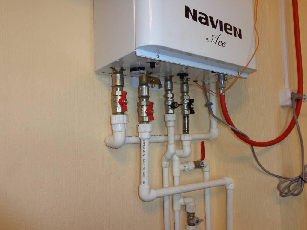 Настенный газовый котел навьен: принцип работы и особенности конструкции, преимущества и недостатки, цена
