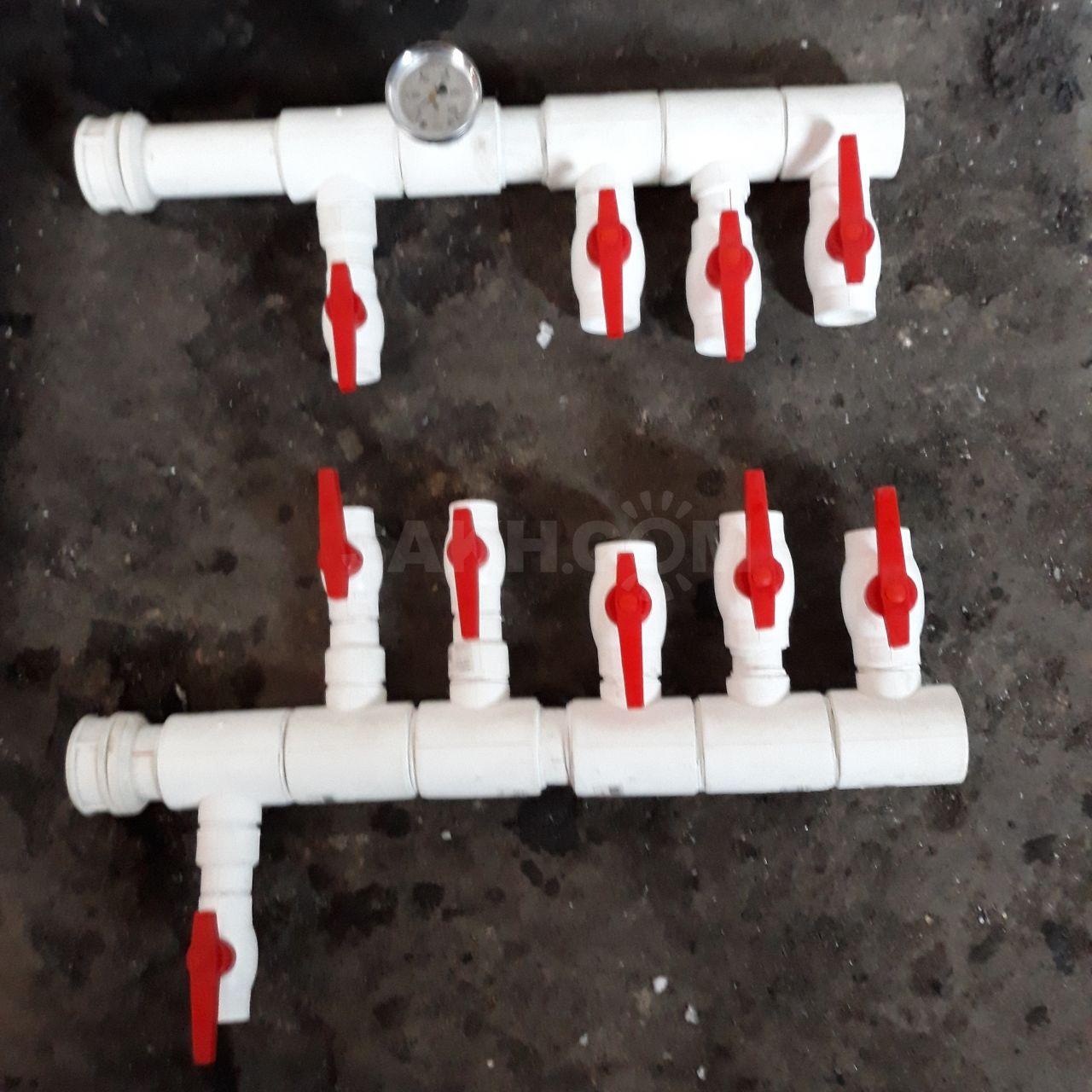 Коллектор из полипропилена своими руками: распределительный коллектор отопления, гребенка, сварной коллектор, как правильно собрать, производство самодельного полипропиленового коллектора