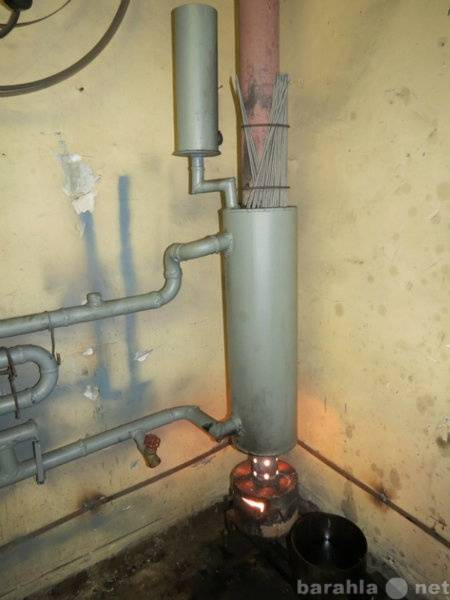 Котлы отопления на отработанном масле - принцип работы, схема установки своими руками