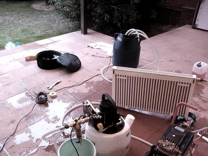 Чистка системы отопления, как прочистить газовый котел, средства для очистки отопительной системы и труб, детальнее на фото и видео
