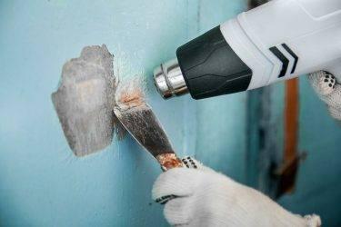 Как очистить батарею от старой краски
