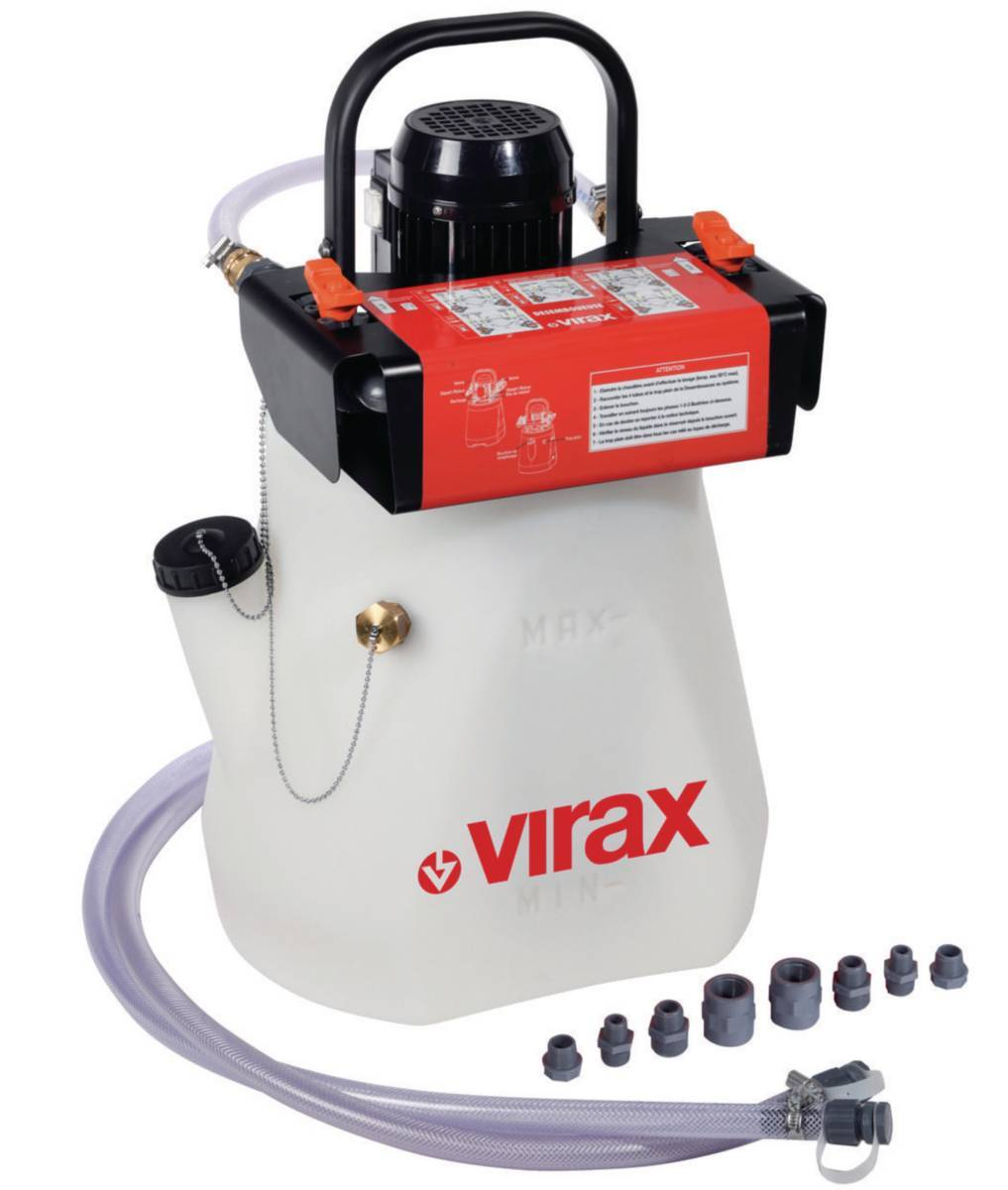 Оборудование для промывки системы отопления - компрессоры и другие установки