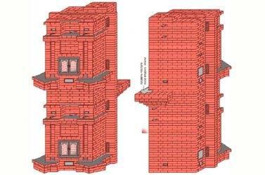 Лучший камин для отопления загородного, двухэтажного дома