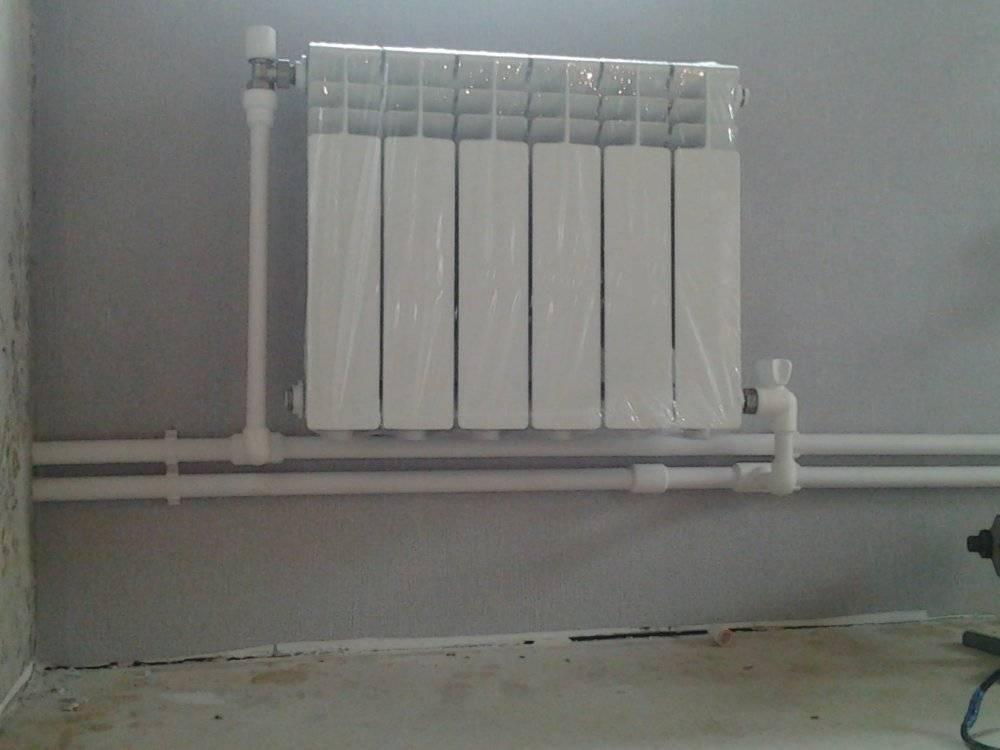 Подключение радиатора отопления к полипропиленовым трубам | трубыда | яндекс дзен