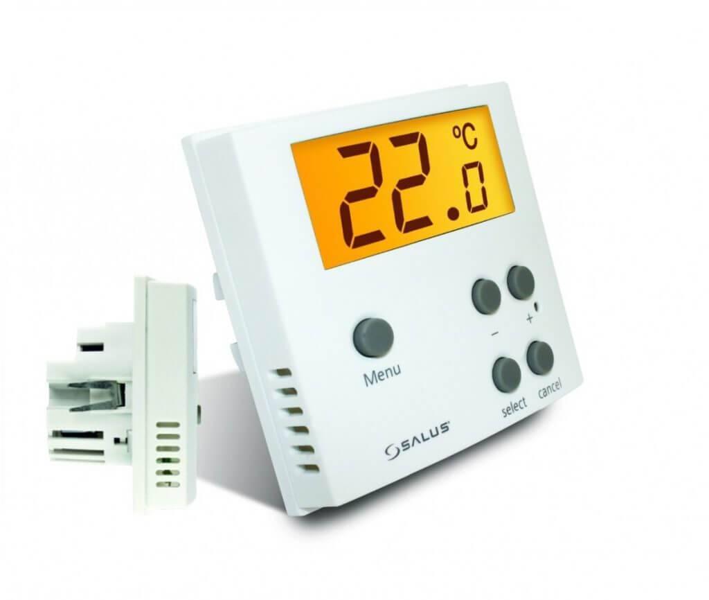 Клапан для теплого пола трехходовой, двухходовой, термоголовка