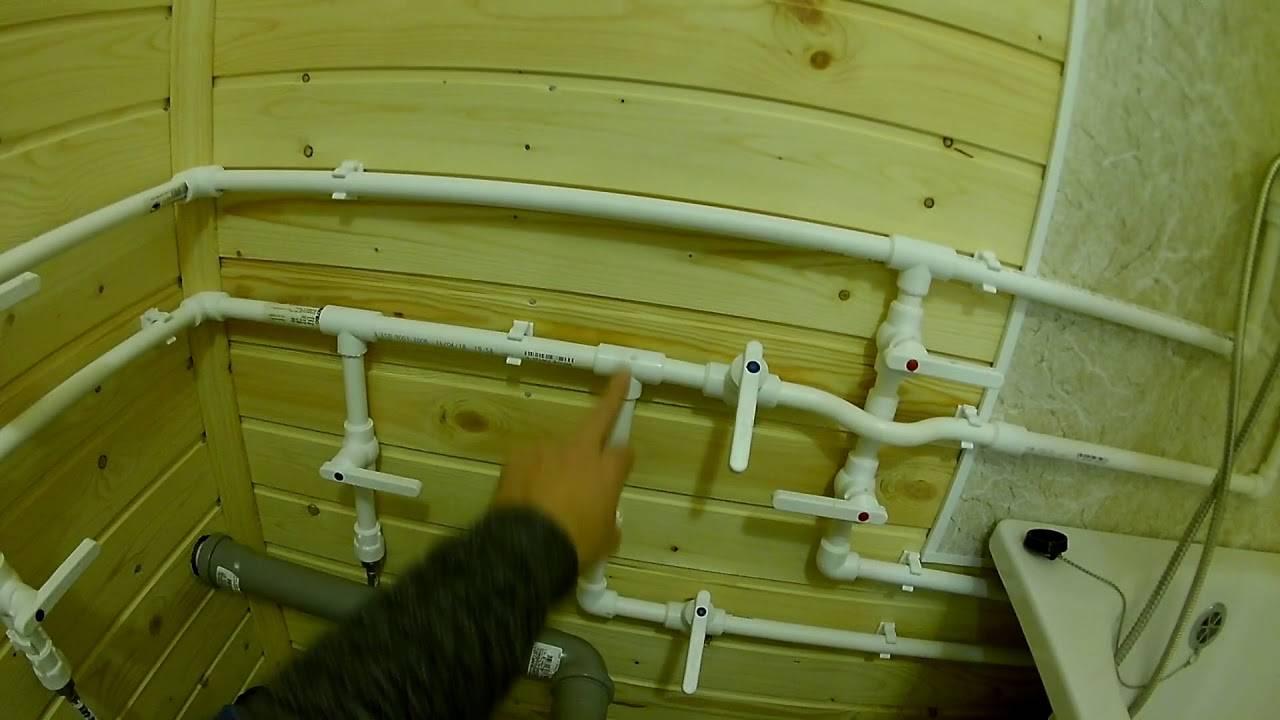 Монтаж пропиленовых труб своими руками - пошаговая инструкция!