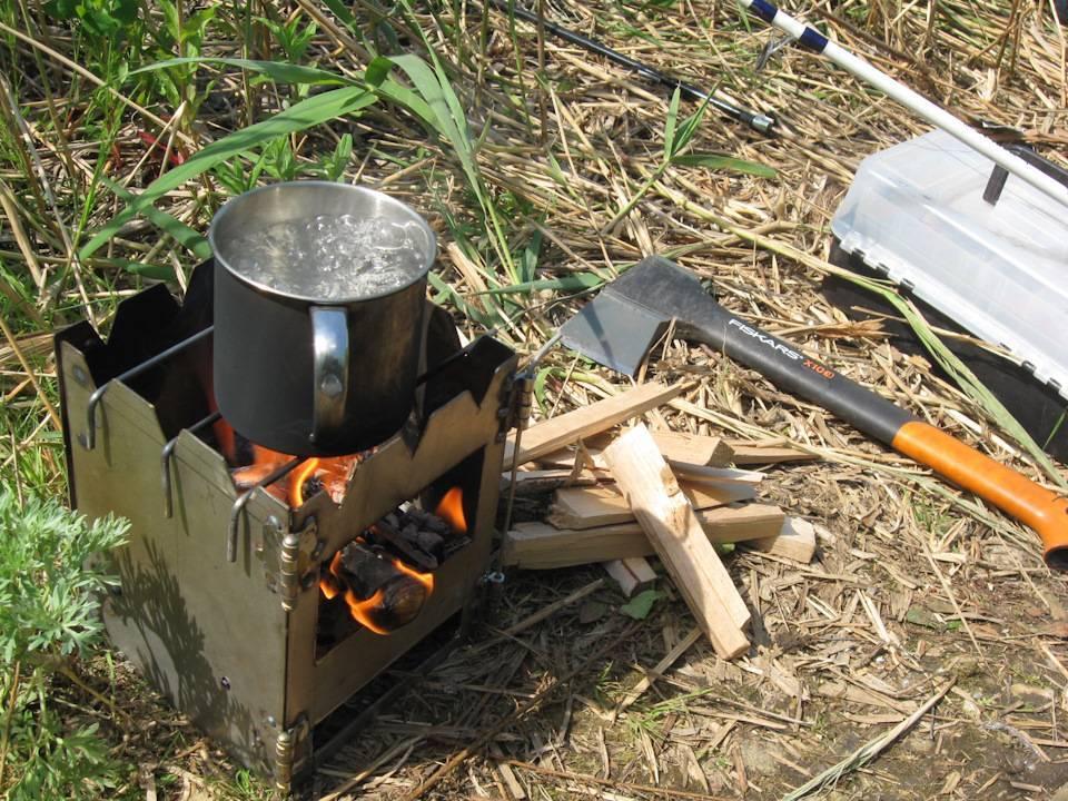 Походная печка на дровах: принцип работы, выбор, модели, цены