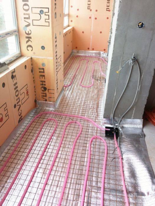 Укладка электрического теплого пола своими руками: расчет, схема, монтаж