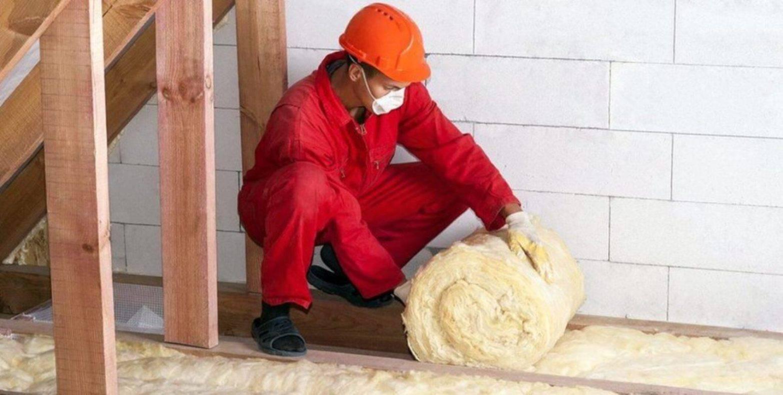 Как утеплить чердак частного дома минватой, пенопластом, керамзитом