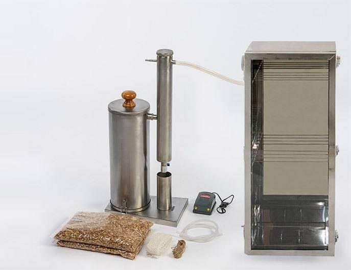 Домашняя коптильня для плиты - плантатор онлайн