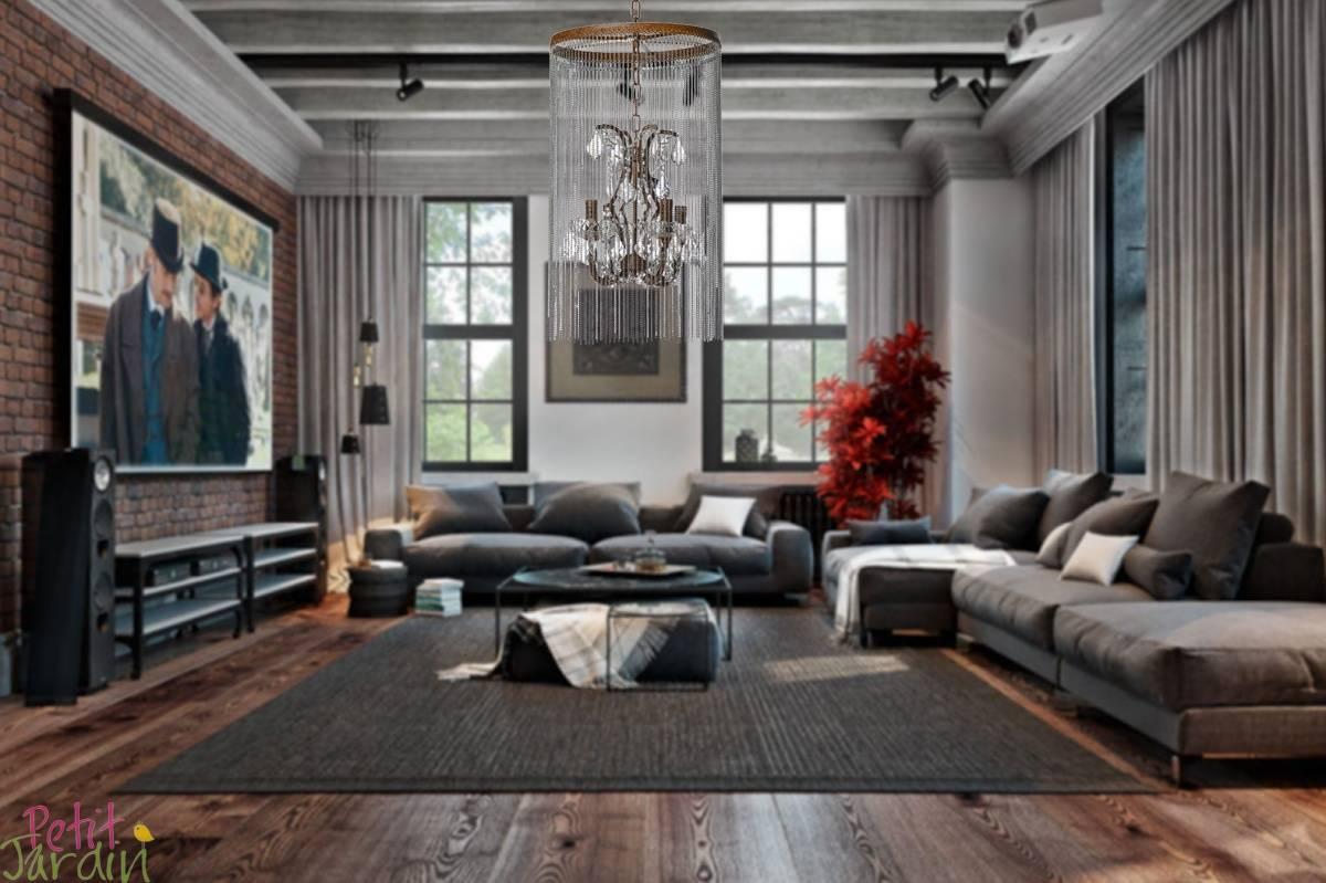 Гостиная в стиле «лофт» (80 фото): проект дизайна маленького зала, реальные примеры ремонта гостинной с элементами «лофт»