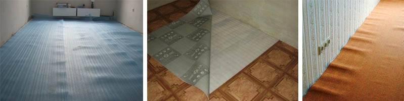Как утеплить пол под линолеумом | ремонт-узел