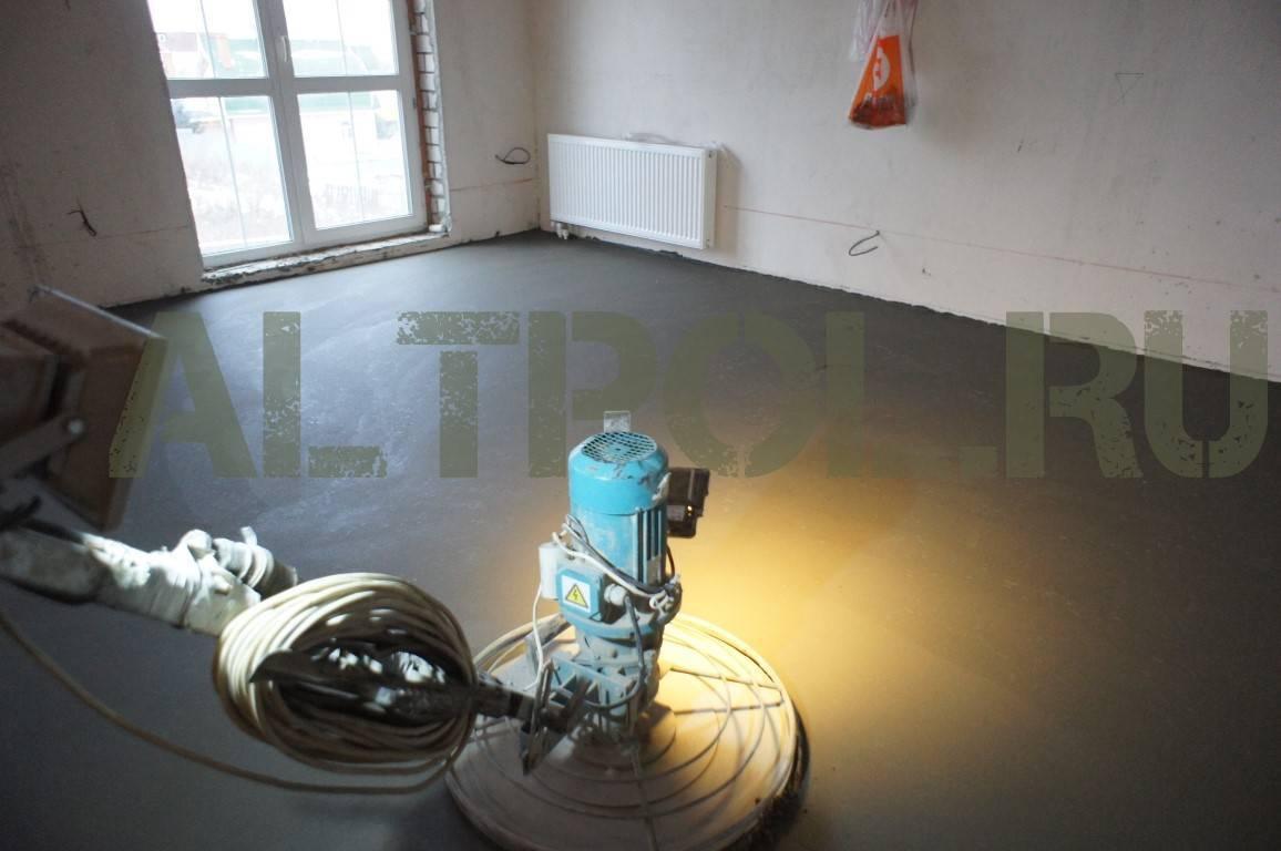 Подготовка основания для укладки водяного теплого пола