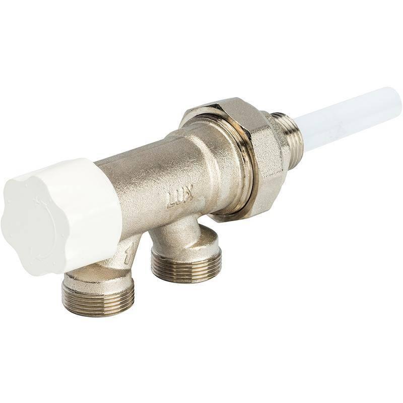Арматура для радиаторов отопления виды, область применения - варианты пола