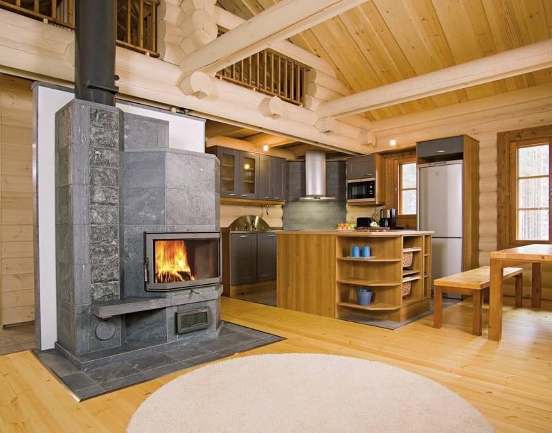 Камин в деревянном доме: виды и требования к установке