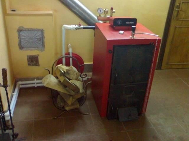 Дровяной котел для отопления частного дома своими руками - сборка и установка