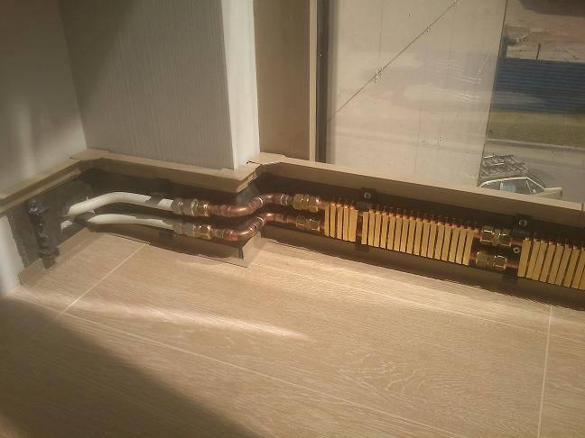 Тёплый плинтус: плинтусные радиаторы в системе отопления