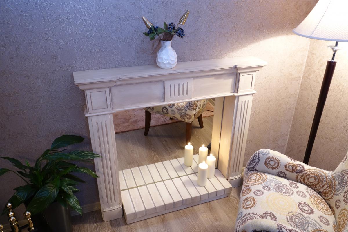 Фальш камин: имитация своими руками в квартире, как сделать из гипсокартона искусственный, угловой из дерева, декоративный каркас, изготовление