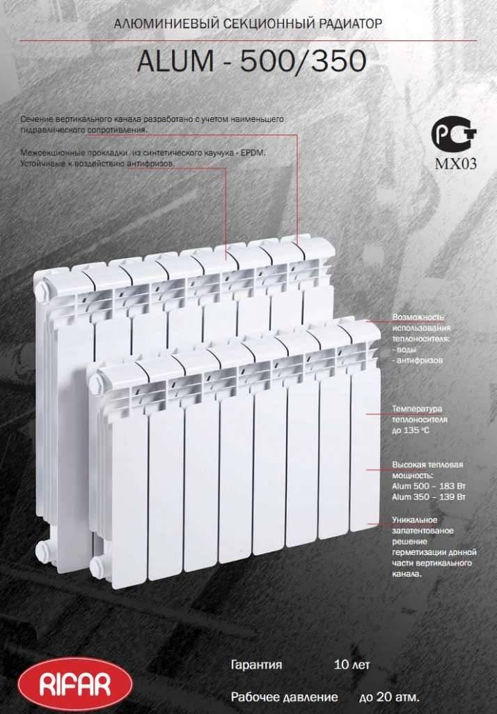 Об эксплуатации алюминиевых и биметаллических радиаторов