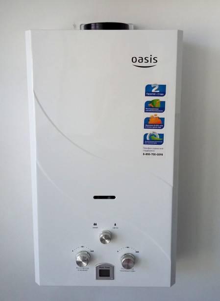 Характеристика газовых колонок оазис: разновидности водонагревателей и отзывы покупателей на oasis