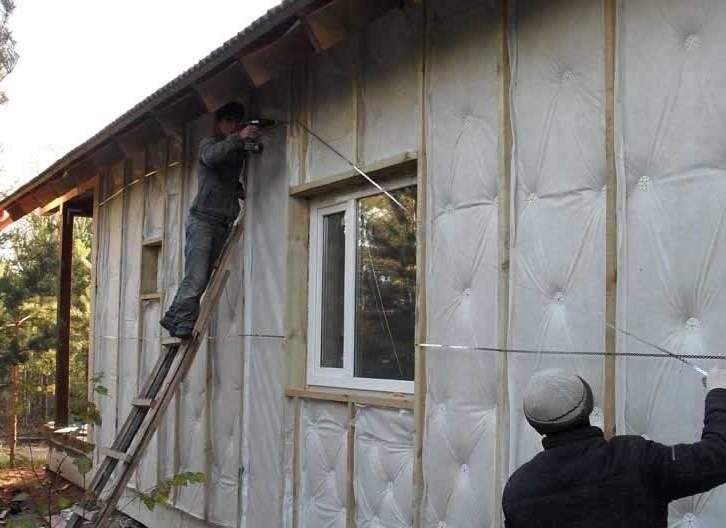 Тепло или холодно утеплитель для стен дома снаружи