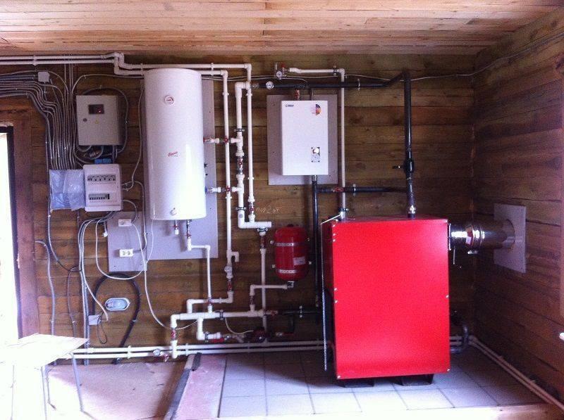 Отопление углем в частном доме - система отопления