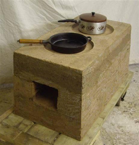 Глинобитная печь – современный прибор, отдающий дань традициям