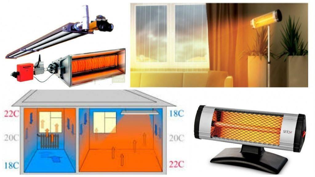 Инфракрасная система отопления частного дома