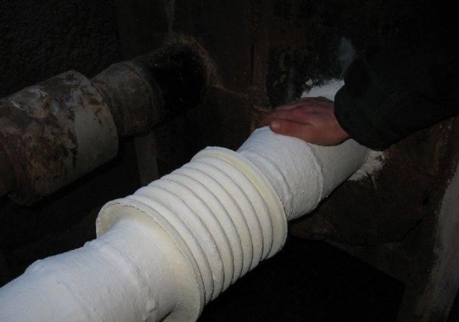 Теплоизоляция для труб отопления в квартире