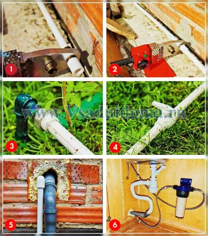 Соединение пнд труб под землей фитингами, муфтами или сварным способом