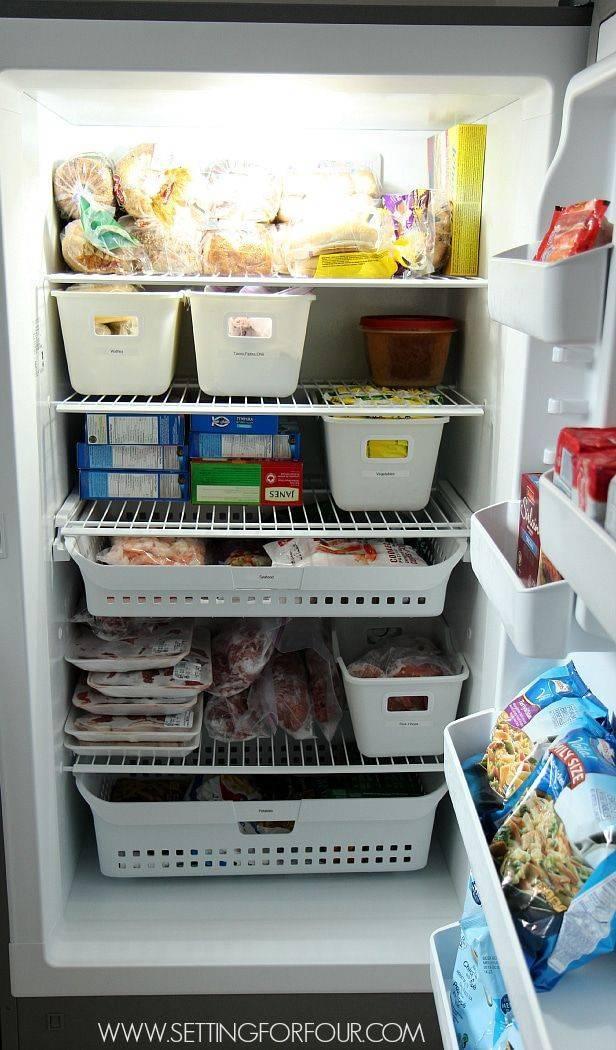 Наводим порядок в холодильнике: идеи по удобному размещению продуктов