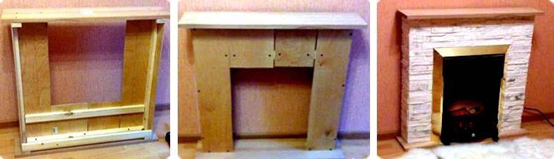 Декоративный камин своими руками для квартиры: пошаговая инструкция по созданию фальш-печи