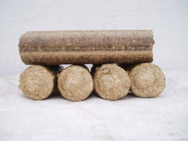 Топливные брикеты из соломы: котел на соломенных тюках своими руками