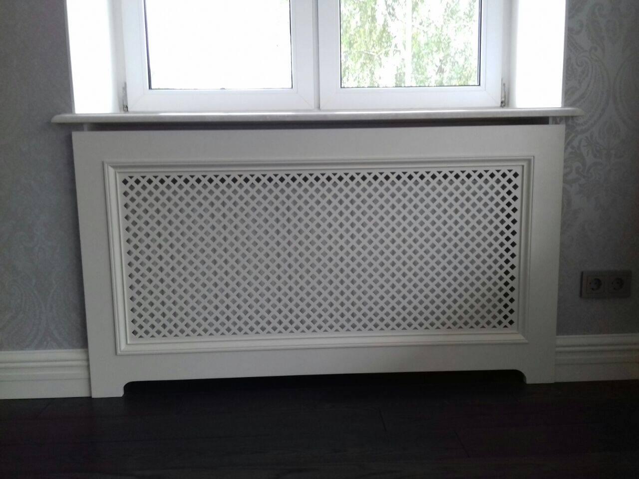 Решетки (экраны) на радиаторы отопления: как выбрать и установить
