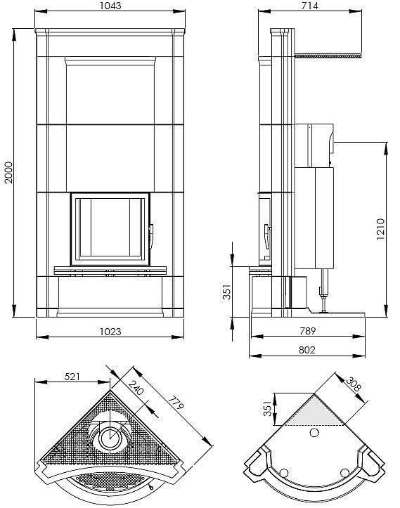 Как построить камин на даче своими руками быстро и качественно?