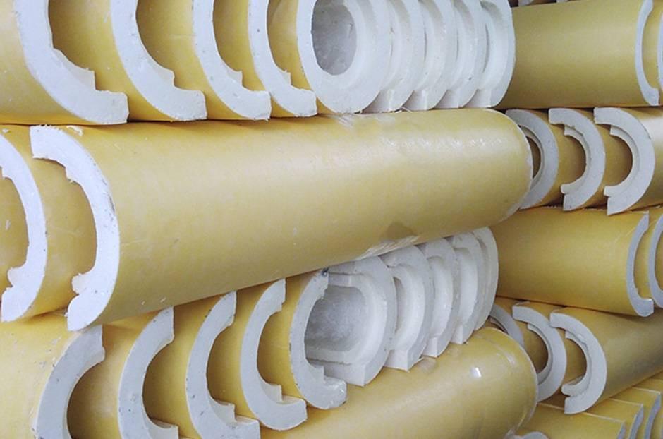 Как использовать скорлупу для теплоизоляции трубы